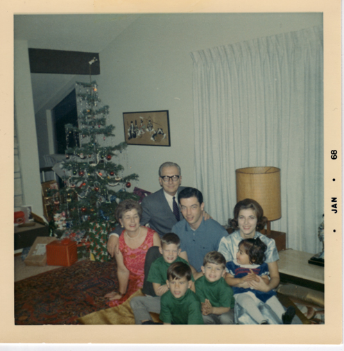 The Cooke Family Christmas Eve 1968